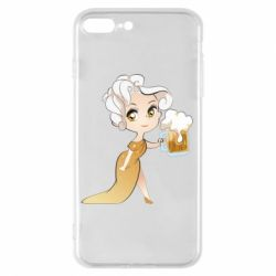 Чохол для iPhone 8 Plus Beer girl