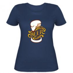 Жіноча футболка Beer goblet