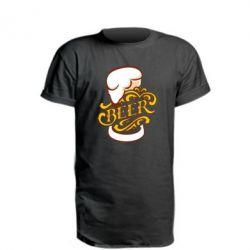 Подовжена футболка Beer goblet