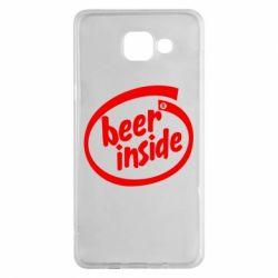 Чехол для Samsung A5 2016 Beer Inside