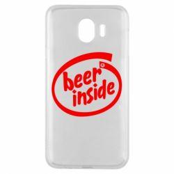 Чехол для Samsung J4 Beer Inside