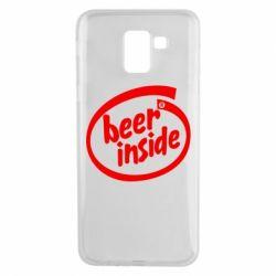 Чехол для Samsung J6 Beer Inside
