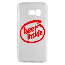 Чехол для Samsung S6 EDGE Beer Inside