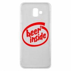 Чехол для Samsung J6 Plus 2018 Beer Inside