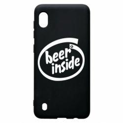 Чехол для Samsung A10 Beer Inside