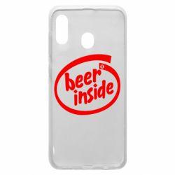Чехол для Samsung A20 Beer Inside