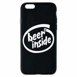 Чехол для iPhone 6 Beer Inside