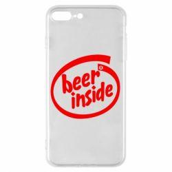 Чехол для iPhone 7 Plus Beer Inside