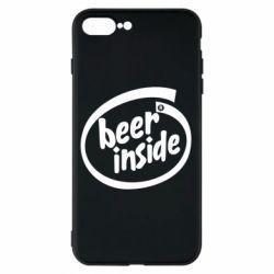 Чехол для iPhone 8 Plus Beer Inside