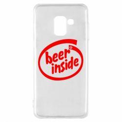 Чехол для Samsung A8 2018 Beer Inside