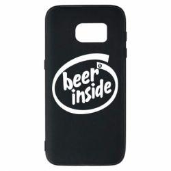 Чехол для Samsung S7 Beer Inside