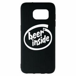 Чехол для Samsung S7 EDGE Beer Inside