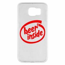 Чехол для Samsung S6 Beer Inside