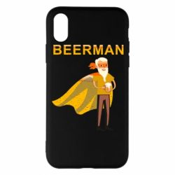 Чохол для iPhone X/Xs BEERMAN