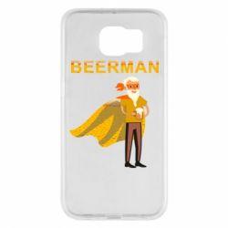 Чохол для Samsung S6 BEERMAN