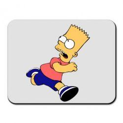 Коврик для мыши Беги, Барт, беги! - FatLine