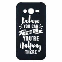 Чохол для Samsung J5 2015 Believe you can and you're halfway there