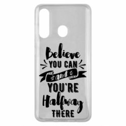 Чохол для Samsung M40 Believe you can and you're halfway there