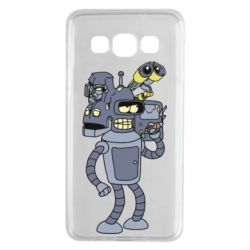 Чохол для Samsung A3 2015 Bender and the heads of robots