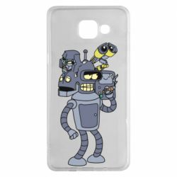 Чохол для Samsung A5 2016 Bender and the heads of robots