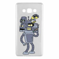 Чохол для Samsung A7 2015 Bender and the heads of robots