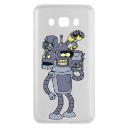 Чохол для Samsung J5 2016 Bender and the heads of robots