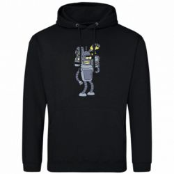 Чоловіча толстовка Bender and the heads of robots