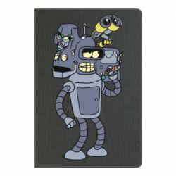Блокнот А5 Bender and the heads of robots