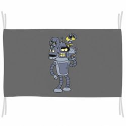 Прапор Bender and the heads of robots
