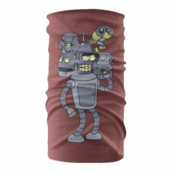 Бандана-труба Bender and the heads of robots