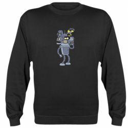 Реглан (світшот) Bender and the heads of robots