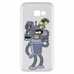 Чохол для Samsung A5 2017 Bender and the heads of robots