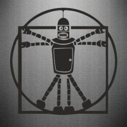 Наклейка Bender Da Vinchi - FatLine