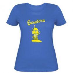 Женская футболка Bendera