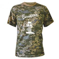 Камуфляжная футболка Bendera - FatLine