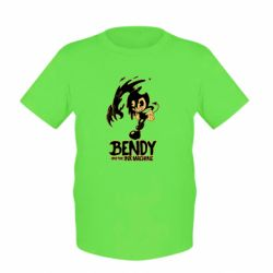 Купить Masha, Детская футболка Bendy And The Ink Machine 1, FatLine