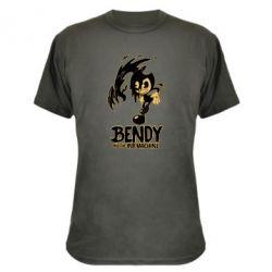 Купить Masha, Камуфляжная футболка Bendy And The Ink Machine 1, FatLine