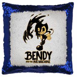 Подушка-хамелеон Bendy And The Ink Machine 1