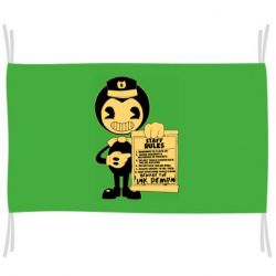 Флаг Bendy and the Ink Machine staff rules