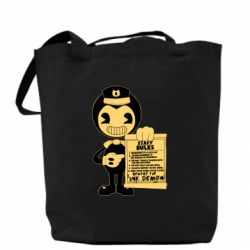 Сумка Bendy and the Ink Machine staff rules
