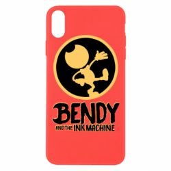 Чехол для iPhone Xs Max Bendy and the Ink Machine text