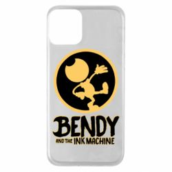 Чехол для iPhone 11 Bendy and the Ink Machine text