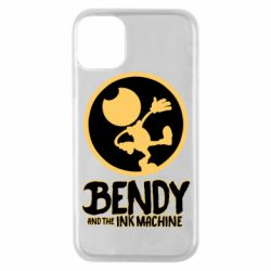 Чехол для iPhone 11 Pro Bendy and the Ink Machine text