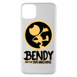 Чехол для iPhone 11 Pro Max Bendy and the Ink Machine text
