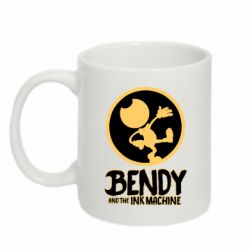 Кружка 320ml Bendy and the Ink Machine text