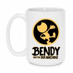 Кружка 420ml Bendy and the Ink Machine text