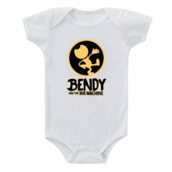 Детский бодик Bendy and the Ink Machine text