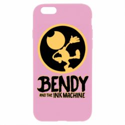 Чехол для iPhone 6/6S Bendy and the Ink Machine text