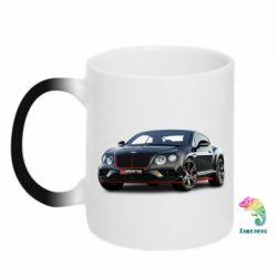 Кружка-хамелеон Bentley car3