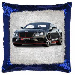Подушка-хамелеон Bentley car3